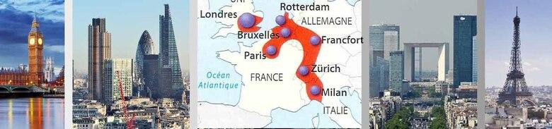 De la mégapole à la  mégalopole européeenne