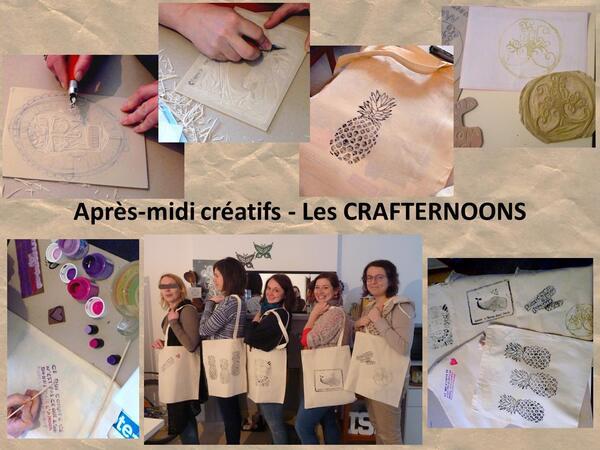 Un nouvel atelier des Crafternoons, inscrivez vous vite !