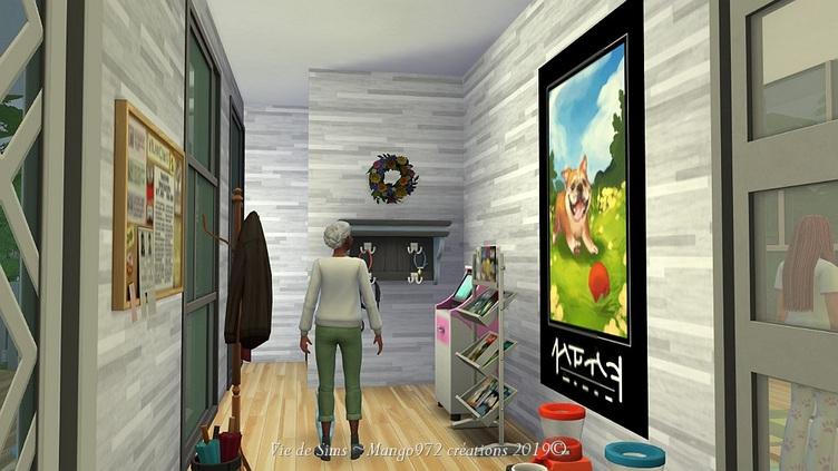 Les Sims 4 : La clinique vétérinaire  du soleil