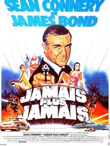 JAMAIS PLUS JAMAIS BOX OFFICE FRANCE 1983