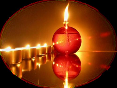 Bougies de Noël Série 7