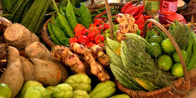 DIVERS : Légumes lontan au goût du jour à la Réunion