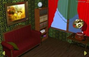 Cozy study room escape