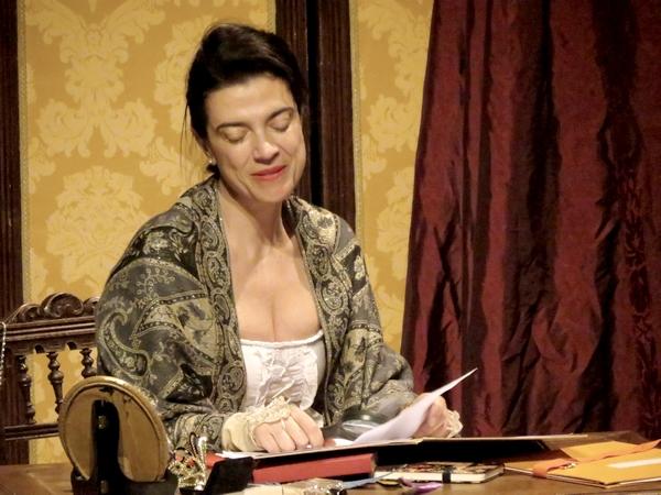 """""""Victor Hugo,mon Amour"""", une très belle évocation de la passion de Juliette Drouet pour Victor Hugo, a ébloui les spectateurs du TGB."""