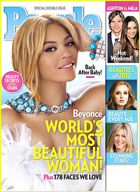Beyonce: People's World's Most Beautiful Woman 2012!