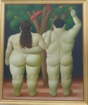 Eve et Adam - Fernando Botero