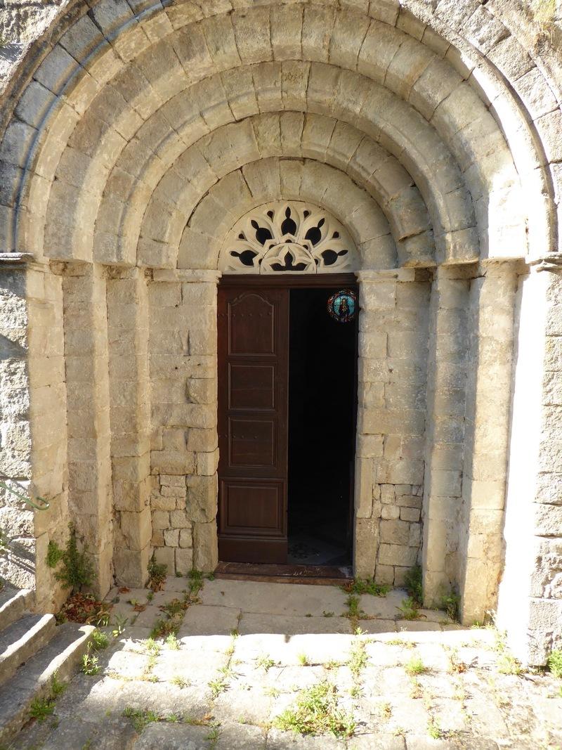 Visite de l'église de Joannas le 8/06/19.