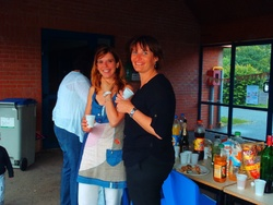 Mylène Denis (vice présidente) et Elodie Pascuttini (présidente)