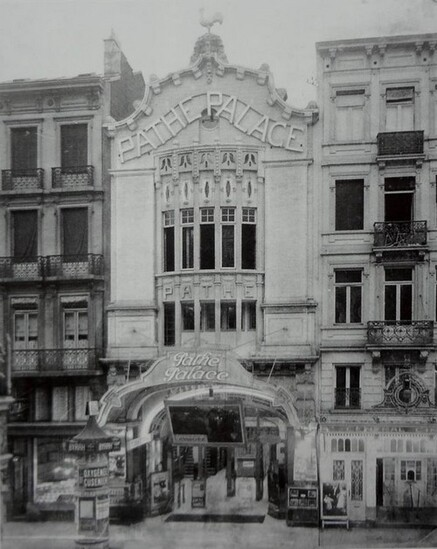 Histoire des salles de cinéma de première exclusivité bruxelloises