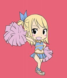 Pom pom girl Fairy Tail