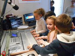 visite des studios Radio Albatros au Havre