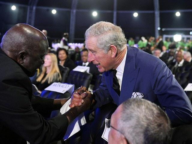 Charles en Afrique du Sud