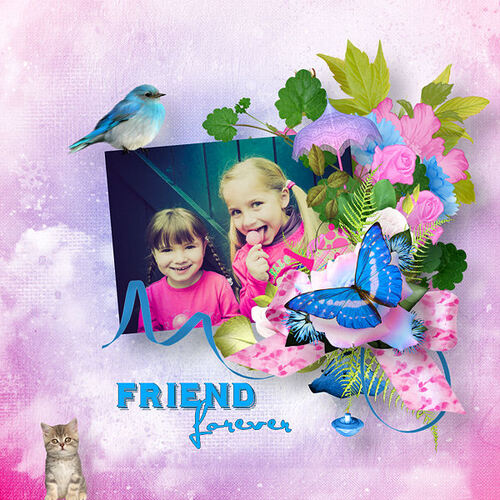 Forever Friends - Tagger size