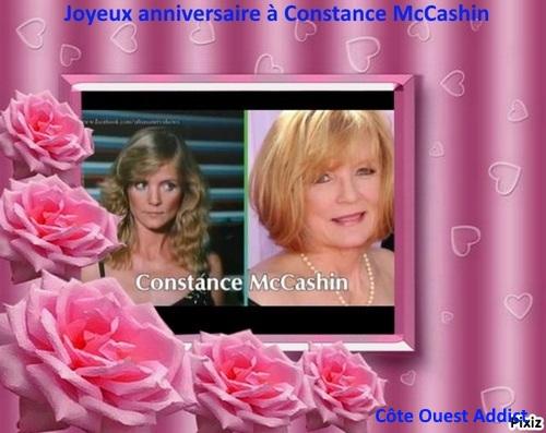 Joyeux anniversaire Constance McCashin