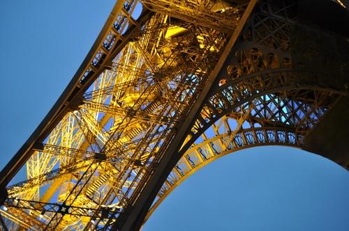 Nuit d'automne à Paris 15 octobre 2010