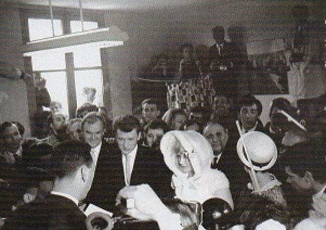 1955  et «le petit cheval blanc de Georges Brassens»...l'icône de la chanson nous a quitté