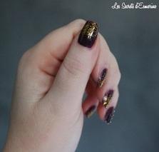 Une envie de perles et de paillettes pour les fêtes... (Tutoriel inside) nail art, les secrets d'esmerine