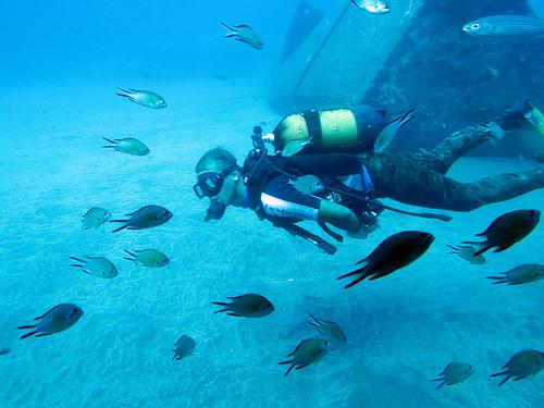 Lanzarote : Le sous marin jaune