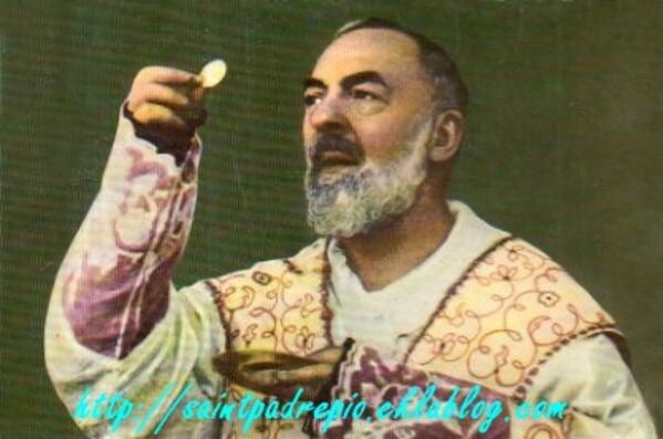 Padre Pio, l'inédie