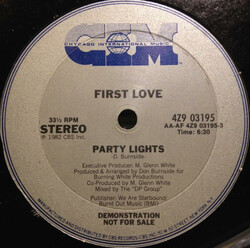First Love - Party Lights