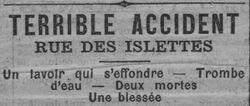 Le Radical 7 août 1898