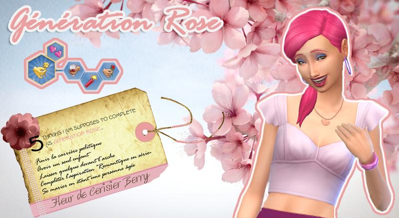 Generation Rose : Fleur de cerisier Berry