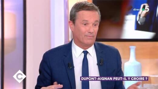 Nicolas Dupont-Aignan a refusé de présenter ses excuses à Patrick Cohen et a été prié de quitter le plateau