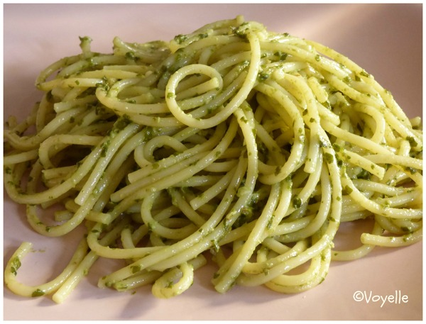 Pesto d'oseille