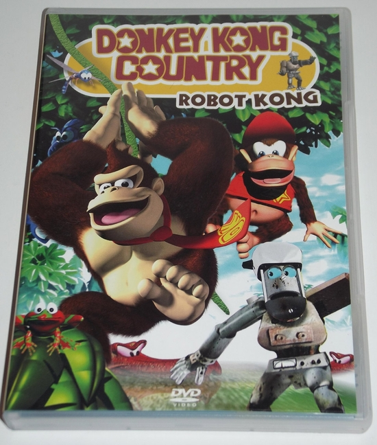 dvd donkey kong country