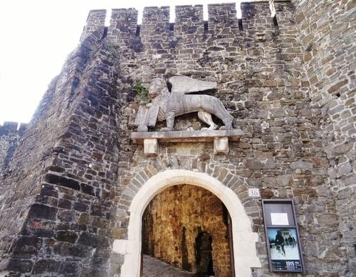 Gorizia et son çâteau en Italie (photos)