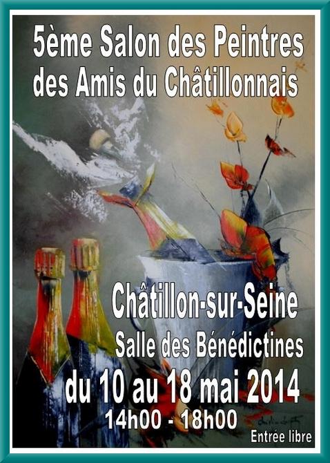 Le cinquième salon des Peintres de la Section-Peinture des Amis du Châtillonnais ouvrira ses portes demain, salle des Bénédictines de Châtillon sur Seine