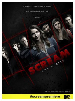 Scream the series de Dan Dworkin et Jay Beattie