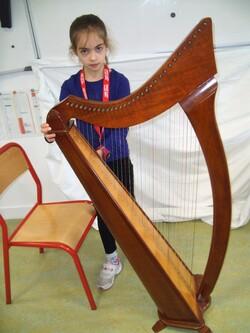 La harpe celtique