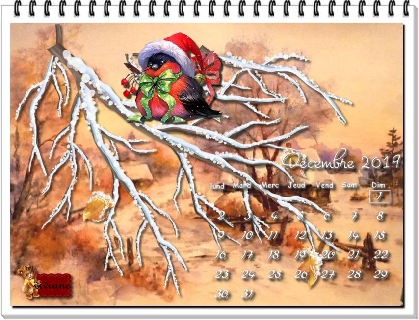 Calendriers Décembre