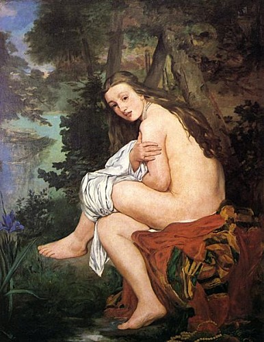 463px-Edouard Manet Die ueberraschte Nymphe
