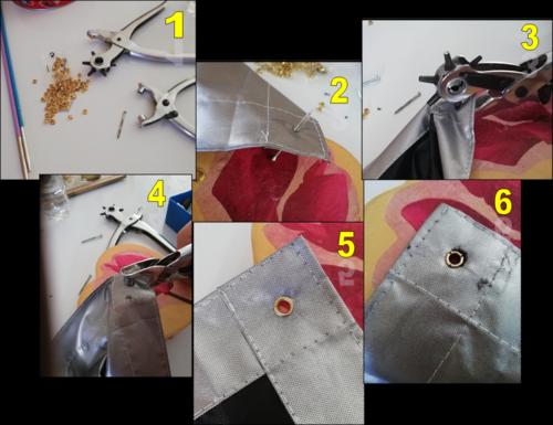 Fixer facilement un store occultant à un velux avec œillets et crochets