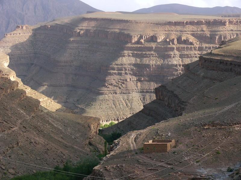 Gorges du Dadés - de Boulmane a Msemrir (2)