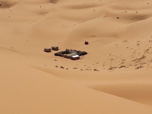 Un bivouac dans les dunes