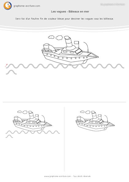 Graphisme n°9 : La ligne sinueuse MS-GS