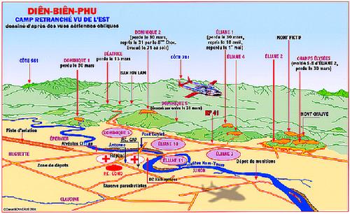 7 Mai 1954 : La chute de Diên Biên Phu
