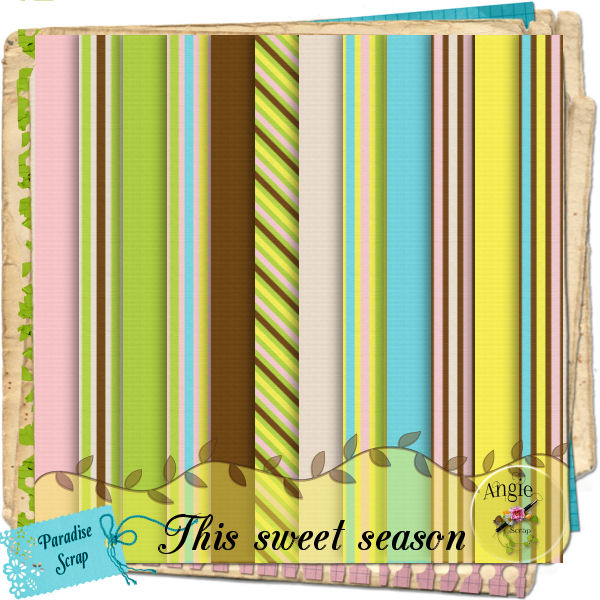"""This Sweet Season"" by Scrap'Angie"