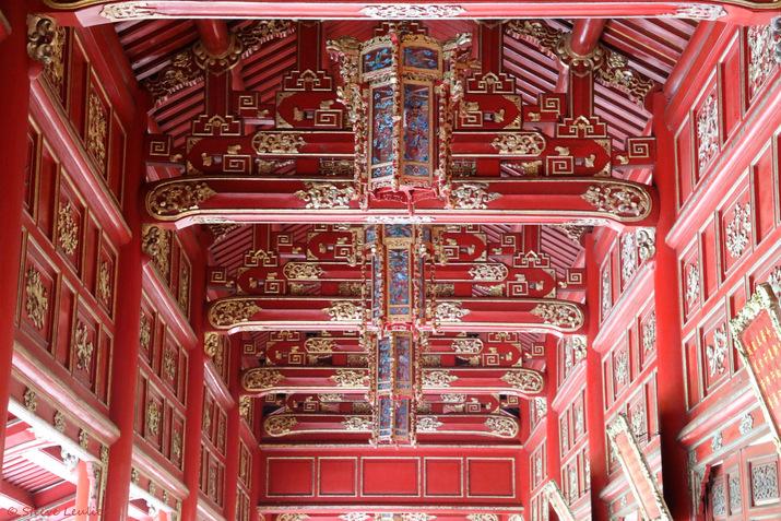 Cité impériale, Cité Pourpre Interdite, Long corridor, Huê