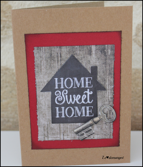 Carte Home Sweet Home