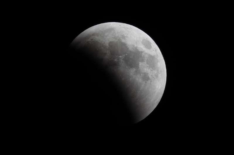 Une photo de la lune en juillet 2017.