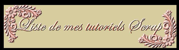 Liste des tutoriels