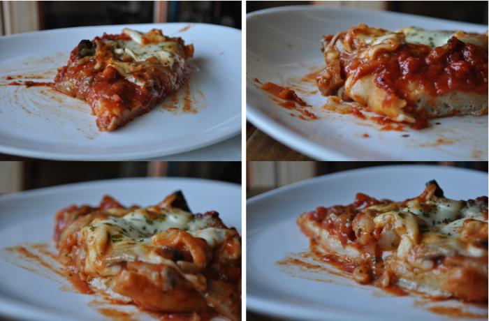 Pizza ai Funghi (forestière)