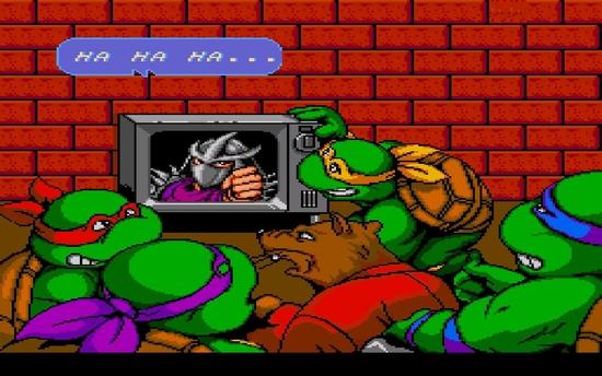 Teenag mutant Ninja Turtles 4 - Turtles in Time ss