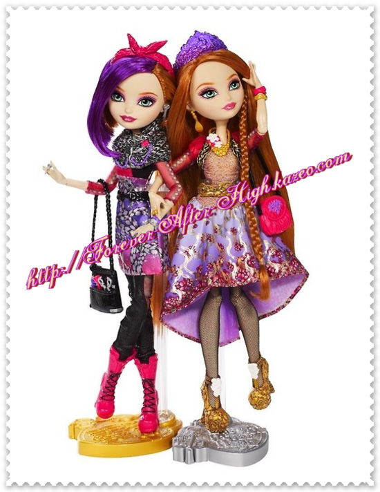 ever-after-high - Holly & Poppy O'Hair dolls-photo-commerciale
