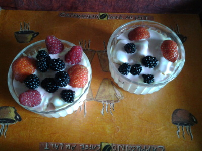 Blog de chacha : Les desserts de Chacha, Tiramisu aux fruits rouges