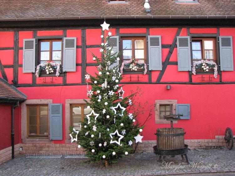 Au temps des marchés de Noël : Beblenheim